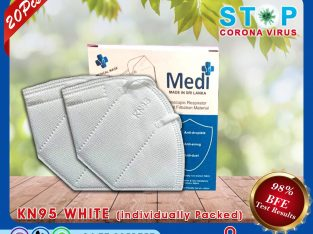 KN95 White Mask for sale in Jaffna