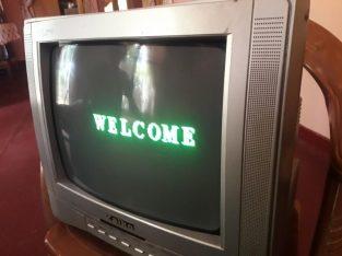 Zaiko TV . (14′ colour TV)
