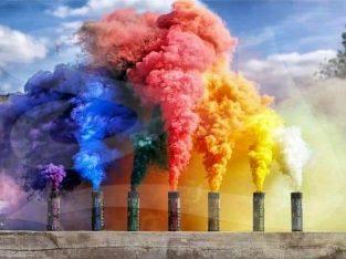 colour smoke bombs 60 second