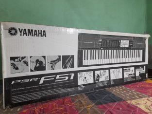 Yamaha F51 keyboard