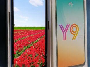 Huawei y9 prime 4gb ram 128gb rom Full set