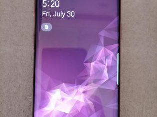 Samsung s9 4gb ram 64gb rom Contact me