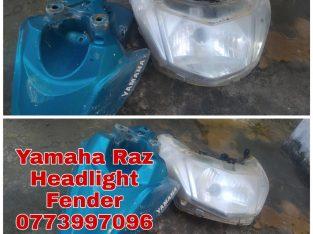 Yamaha Raz Headlight fender for sale in Pointpedro