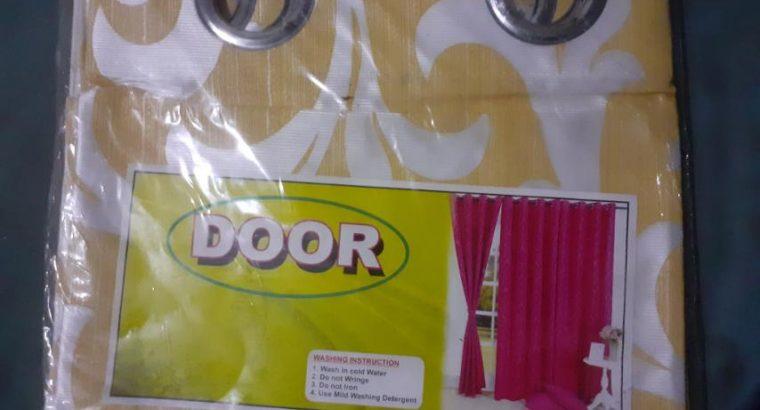 DOOR & WINDOW CURTAIN FOR SALE IN