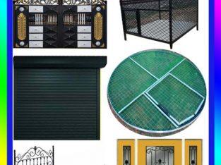 welding work & New Design Gate Grill MEESALAI