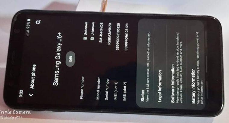 Samsung j6+ 4GB RAM 64GB STORAGE Full set box